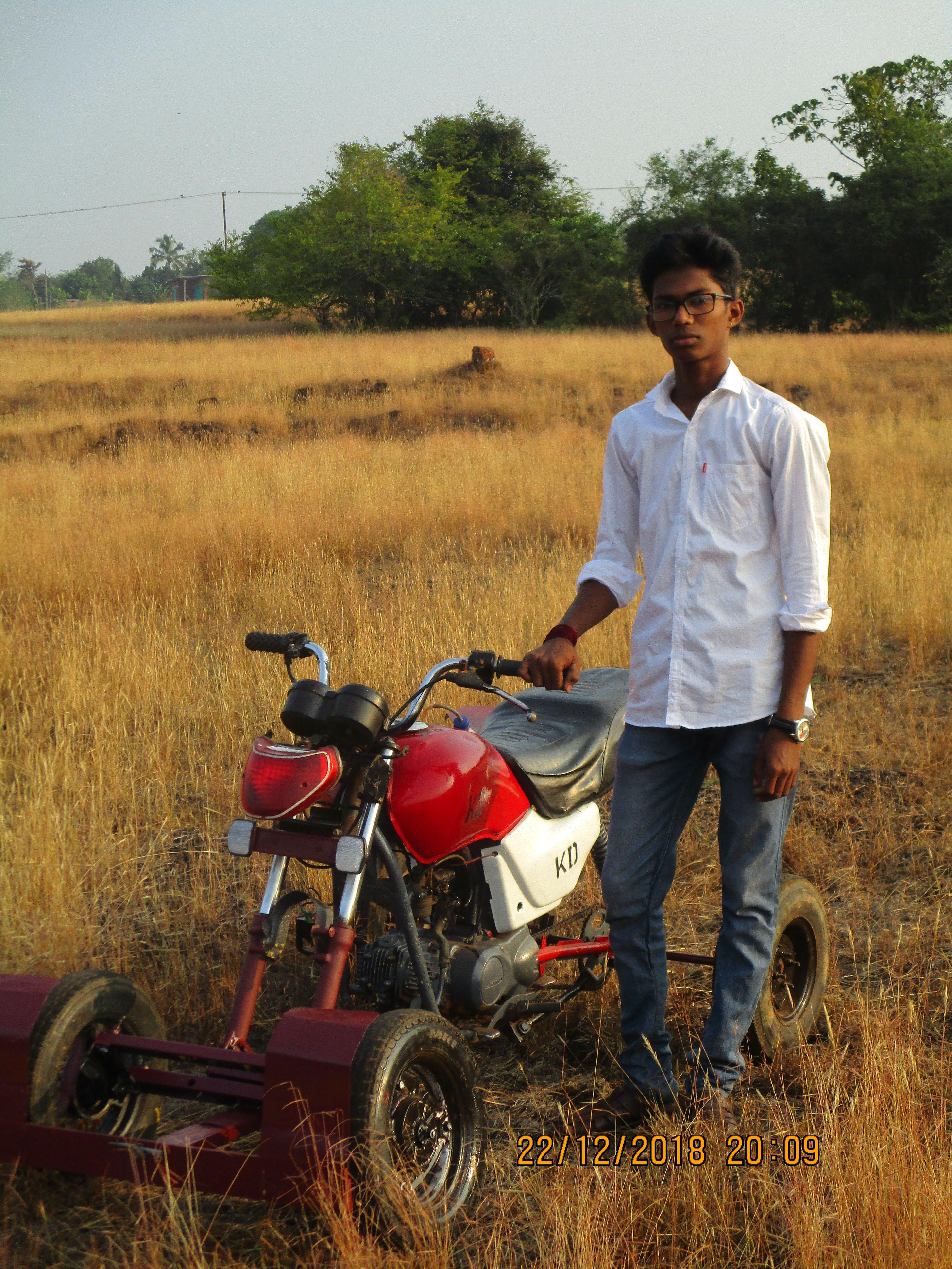 ATV Quad Bike from scraps