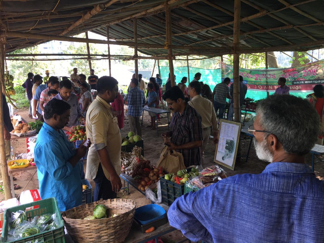 Kerala organic market