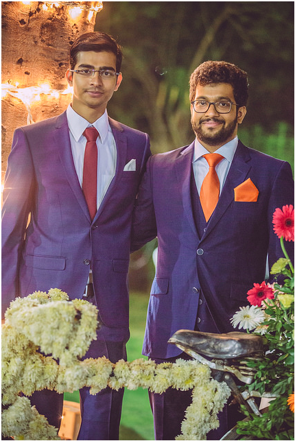 Lightspeed was founded by brothers Rahil (right) and Rushad (left) from Ahmedabad