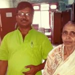 Dileep Das with Geetha Rani, who was not initially listed in the National Registry of Citizenship India
