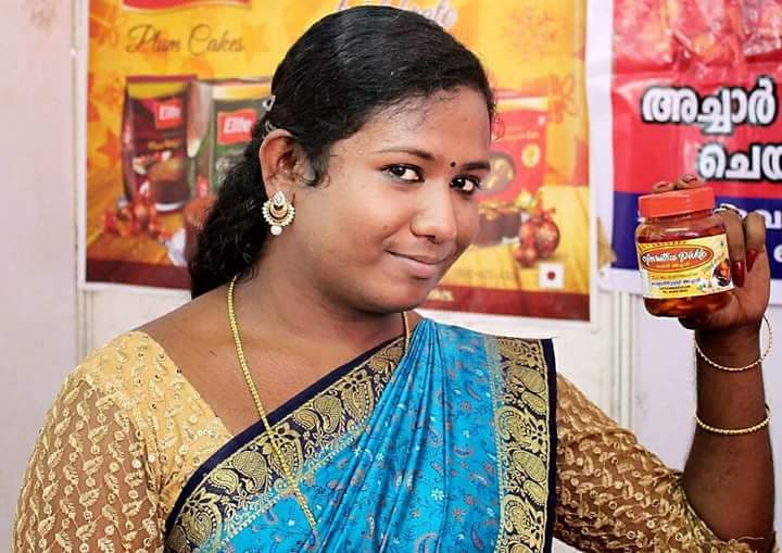 Despite all odds, Amrita, a transperson from Kochi lead her enterprise into success