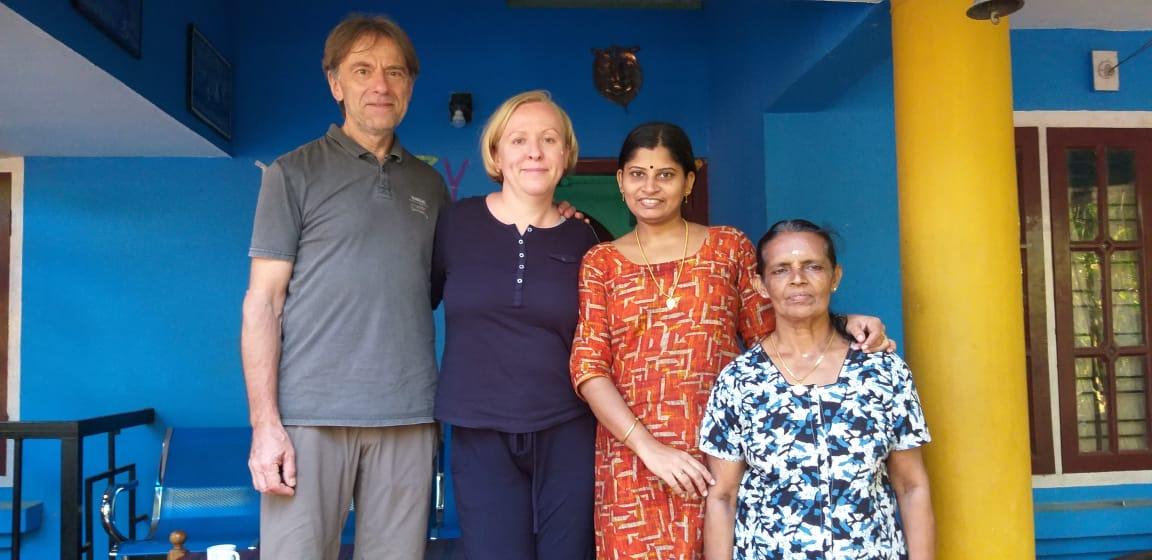 Sudha now runs a homestay close to Thattekkad Bird Sanctuary in Kerala