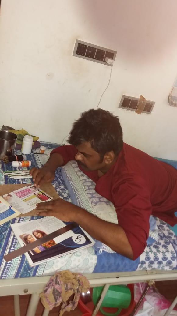 Musthafa from Malappuram. Managing Director, Handicrops