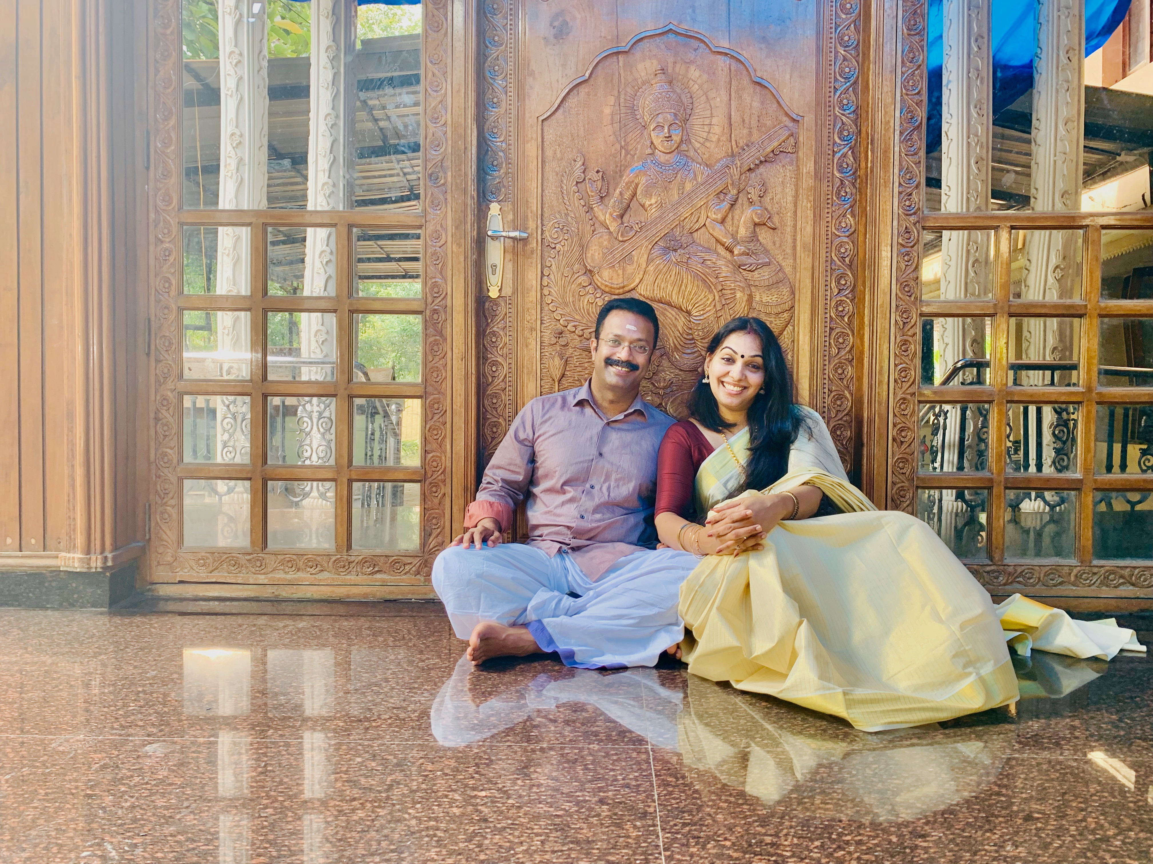 Jan Joshy and Veena Jan.