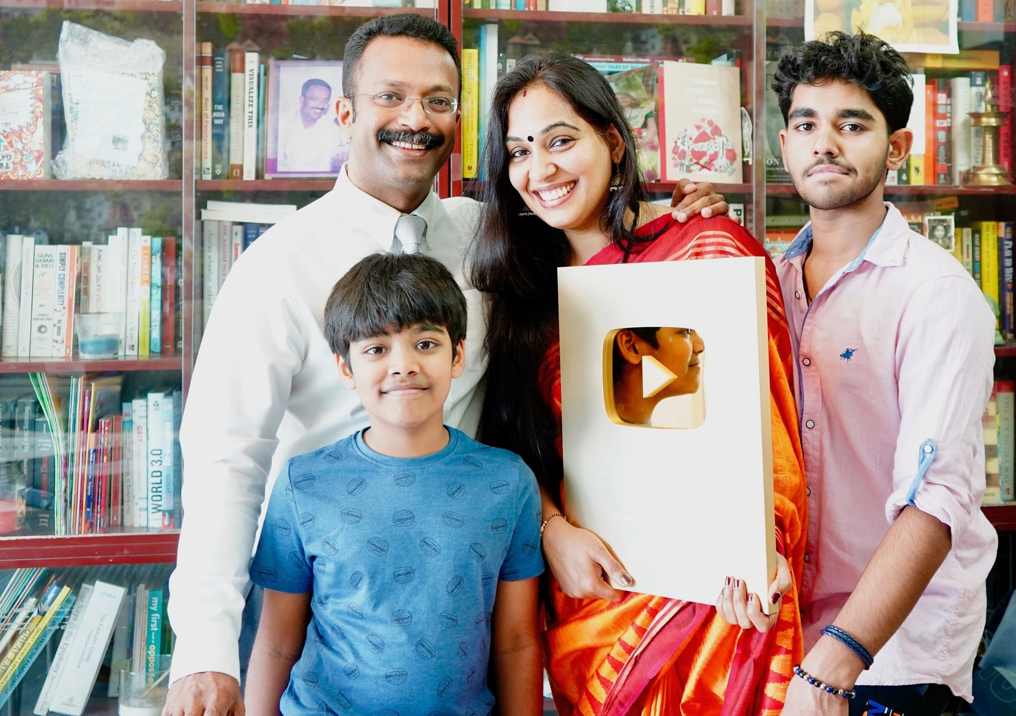 Veena of Veena's Curry World, a highly popular video blog, is the first Malayalee woman to get Golden Play Button from YouTube