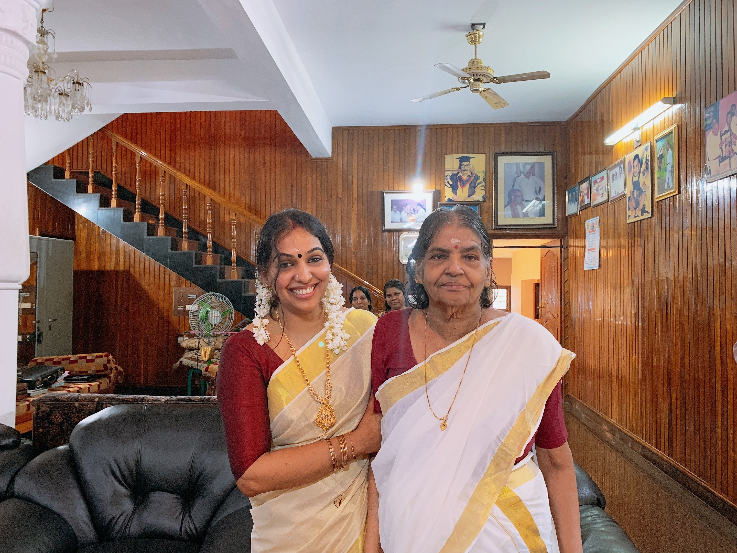 Veena of Veena's Curry World, a highly popular video blog on YouTube gives all credits to her mother Yasodara