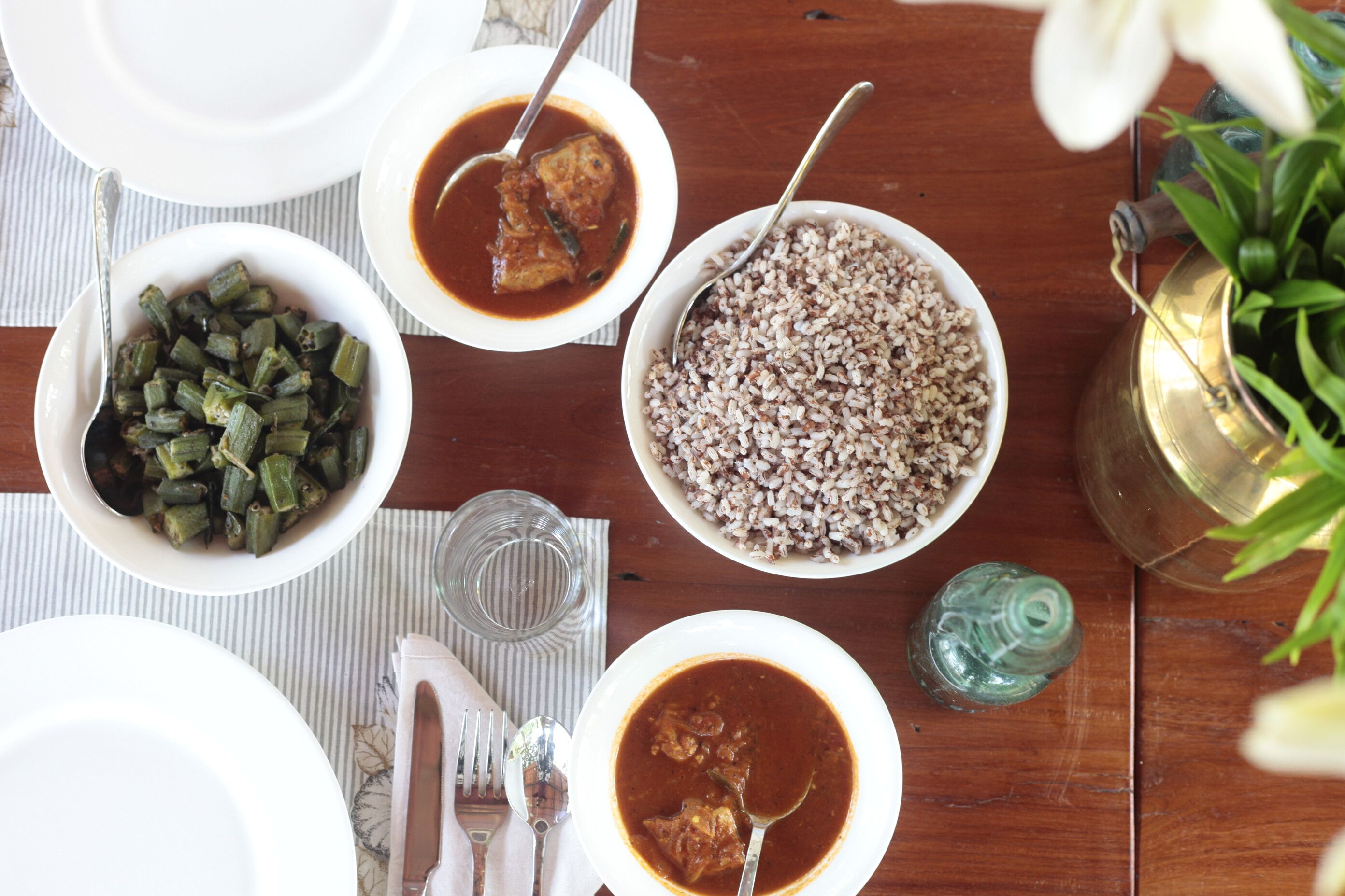 Food serves in Kayal Island Resort Kakkathuruthu is organic and locally sourced