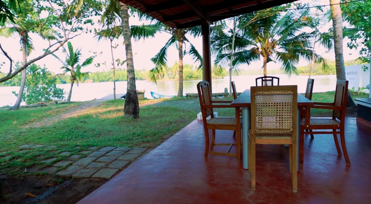 View from Kayal Island Retreat, Kakkathuruthu Alappuzha