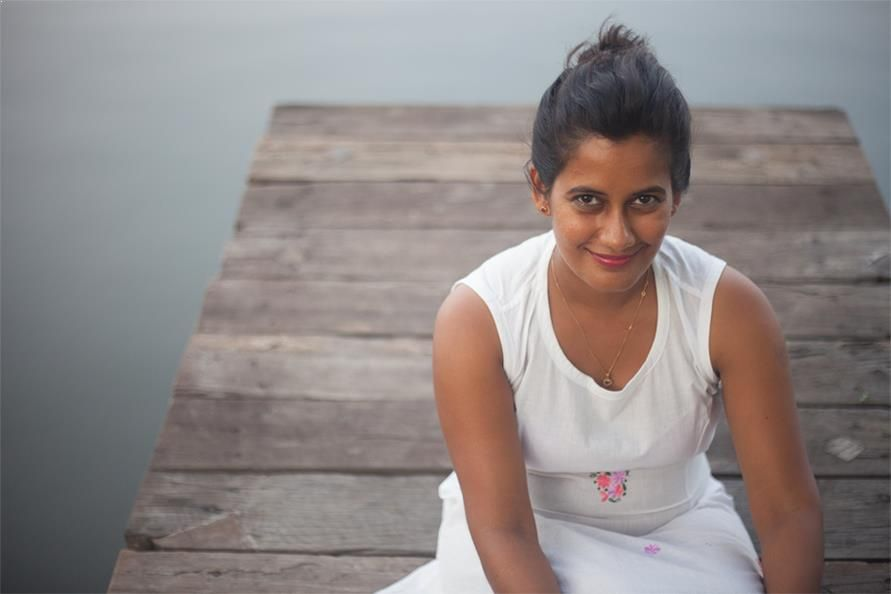 Maneesha Panicker, founder of Kayal Island Retreat, Kakkathuruth, Alappuzha.